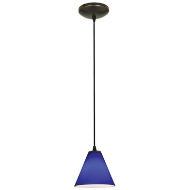 Martini Cord Pendant by Access | 28004-1C-ORB/COB