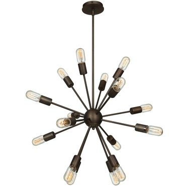 Flux Vintage Chandelier by Access | 55542-BRZ