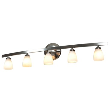 Sydney 46 5 Light Bathroom Vanity Light by Access | 63815-46-MC/OPL