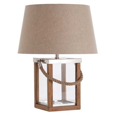 Tate Hurricane Table Lamp