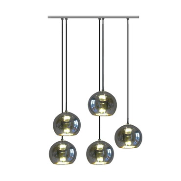 Kubric 5-Light Cluster Suspension