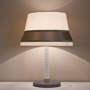 Audrey Table Lamp Brown Finish