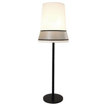 Audrey Floor Lamp Black Finish