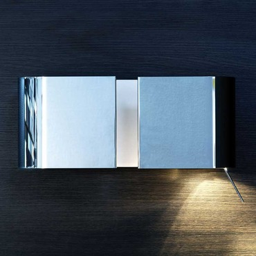 Duos Left Adjustable Wall Lamp by Contardi | ACON.000069