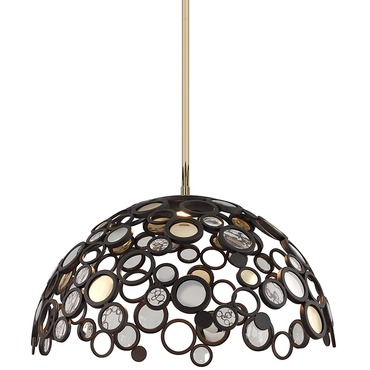 Fathom Dome Pendant by Corbett Lighting | 188-45