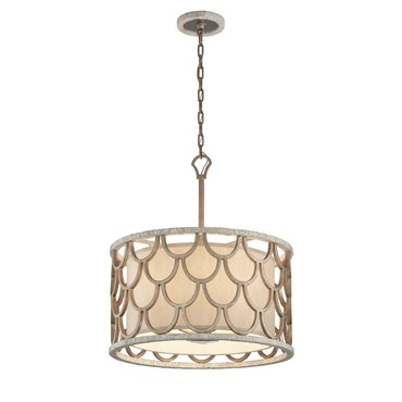 Koi Drum Pendant by Corbett Lighting | 195-45