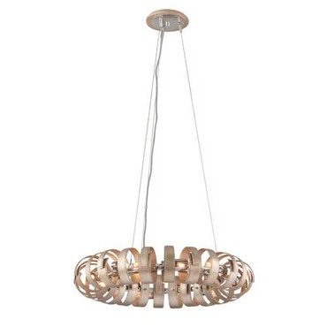 Recoil Pendant by Corbett Lighting | 191-48