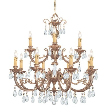 Etta 499 Chandelier by Crystorama | 499-OB-CL-MWP