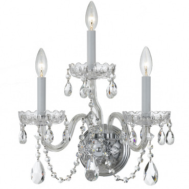 Traditional Crystal 1033 Wall Sconce