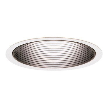 Lytecaster 1105 6.75 Inch Step Baffle Downlight Trim by Lightolier | 1105