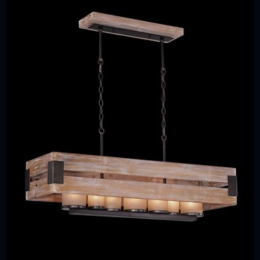 Cesto Rectangular Chandelier by Eurofase | 26365-015