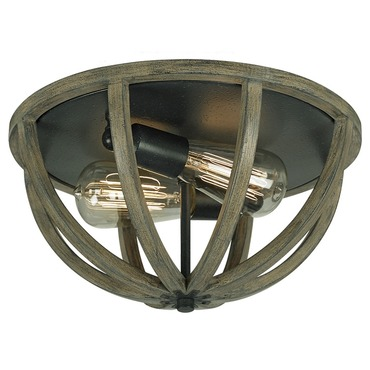 Allier Flush Mount by Feiss | FM400WOW/AF