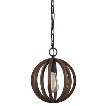 Allier Mini Pendant by Feiss | P1302WOW/AF