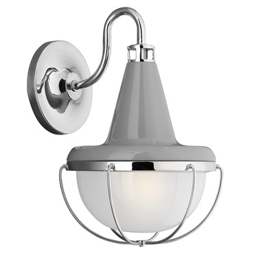 Livingston Outdoor Wall Light by Feiss | OL14002HGG/PN