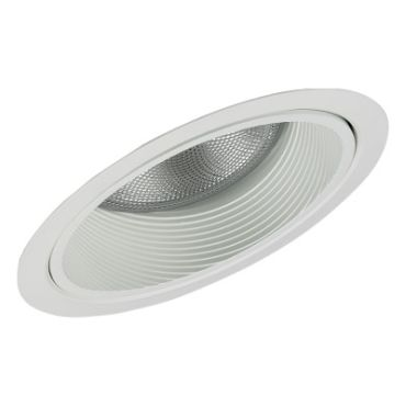 Lytecaster 1133 6.75 Inch Steep Slope Reflector Trim by Lightolier | 1133WH