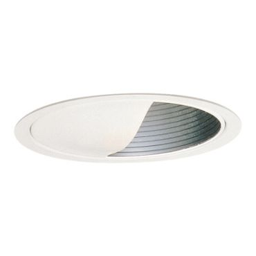 Lytecaster 1135 6.75 Inch Baffle Wall Wash Trim by Lightolier | 1135WH