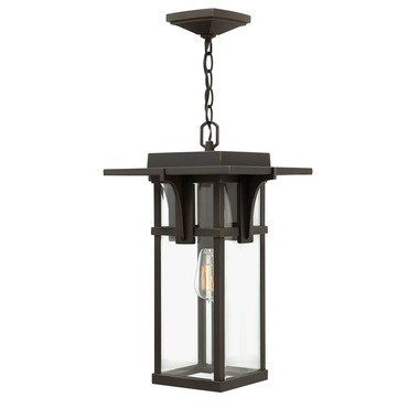 Manhattan Clear Glass Outdoor Pendant by Hinkley Lighting | 2322OZ