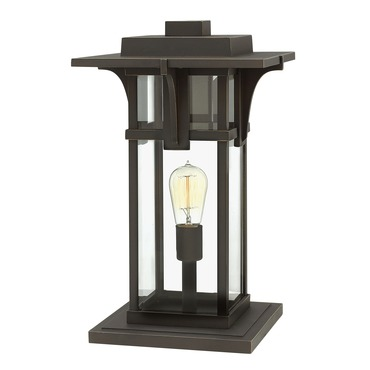 Manhattan Outdoor Deck Post Mount by Hinkley Lighting | 2327OZ