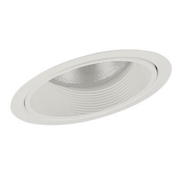 Lytecaster 1154 6.75 Inch Sloped Ceiling Reflector Trim by Lightolier | 1154GWB