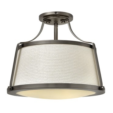 Charlotte Semi Flush Ceiling Light by Hinkley Lighting | 3521AN