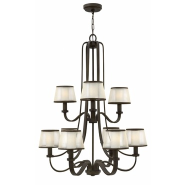 Prescott 4968 Chandelier by Hinkley Lighting | 4968OB