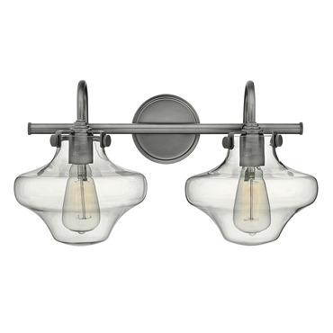 Congress Saturn Bathroom Vanity Light by Hinkley Lighting | 50021AN