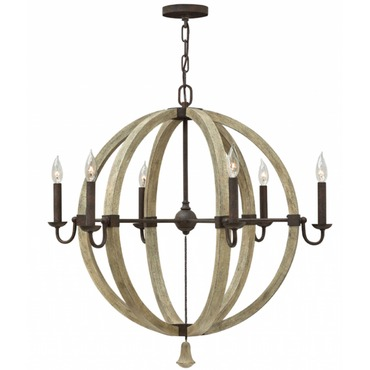 Middlefield Outer Light Sphere Chandelier