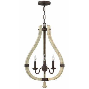 Middlefield Inner Light Chandelier by Fredrick Ramond | FR40573IRR