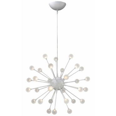 Impulse Chandelier by Fredrick Ramond | FR44413CLD