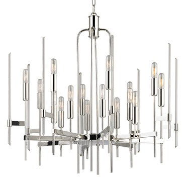 Bari Chandelier by Hudson Valley Lighting | 9916-PN