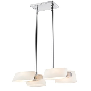 Clio Linear Suspension by Iberlamp | C130-04-CH-OP