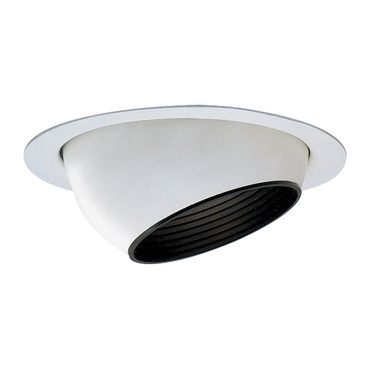 Lytecaster 2022LV 3.75 Inch MR16 Eyeball Reflector Trim by Lightolier   2022LV