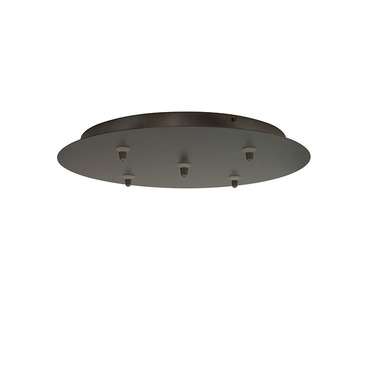 FSJ 5 Light Round LED Canopy by LBL Lighting | CK005B-FJ-BZ-LED