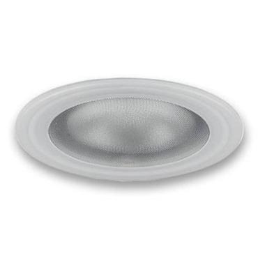 Lytecaster 2090LV 3.75 Inch MR16 Flush Glass Shower Trim by Lightolier   2090LV