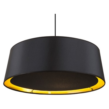 Weegee Slim Pendant by Lights Up | 9705BN-MBG