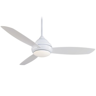 Concept I 58 inch Outdoor Ceiling Fan with Light