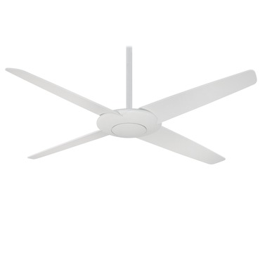 Pancake Ceiling Fan by Minka Aire | F738-WHF