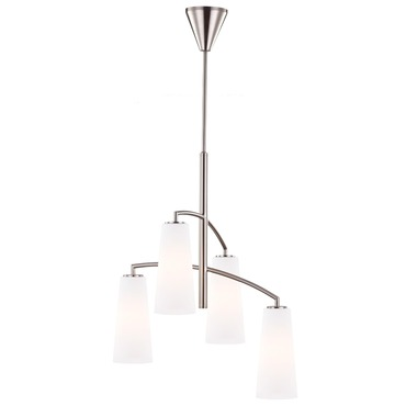 Coddington Chandelier by Feiss | F2948/4BS