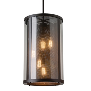 Bluffton Outdoor 5 Light Pendant by Feiss | OL12014ORB
