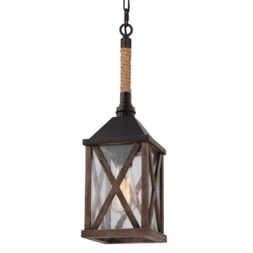 Lumiere Rope Pendant by Feiss | P1326DWO/ORB