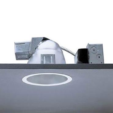 Calculite 8091C 6 Inch CFL Clear Lens Downlight Trim by Lightolier | 8091CCCZW