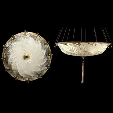 Scudo Saraceno Silk Pendant