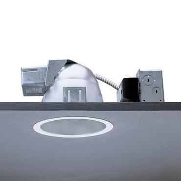 Calculite 8097F 7 Inch CFL Fresnel Lens Downlight Trim by Lightolier   8097FWHW