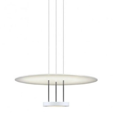 Chromaglo LED Bright White Round Reflector Pendant by Sonneman A Way Of Light | 2400.03