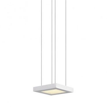 Chromaglo LED Bright White Square Pendant