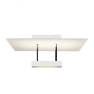 Chromaglo LED Square Reflector Semi Flush
