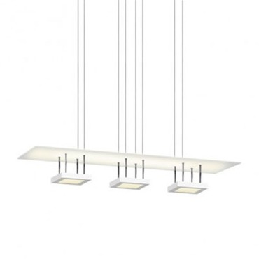 Chromaglo LED Bright White Linear Reflector Pendant by Sonneman A Way Of Light | 2413.03
