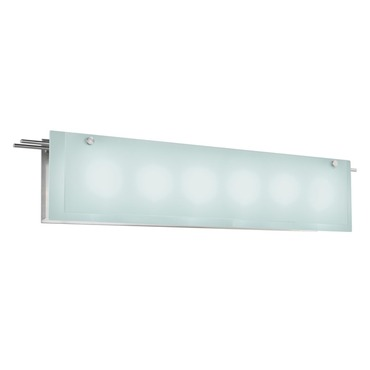 Suspended Glass 6 Light Bath Bar by Sonneman A Way Of Light | 3208.13