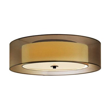 Puri Incandescent Ceiling Flush Mount