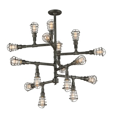 Conduit Chandelier by Troy Lighting | F3818